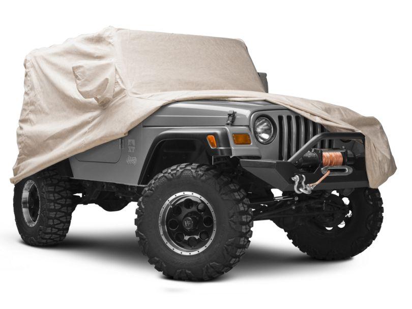 Covercraft Custom Block-It 380 Car Cover - Taupe (97-06 Jeep Wrangler TJ)