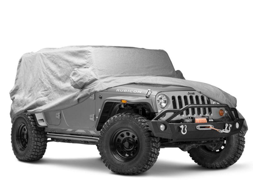 Covercraft Premium Custom-Fit Car Cover - Gray (07-18 Jeep Wrangler JK 4 Door)