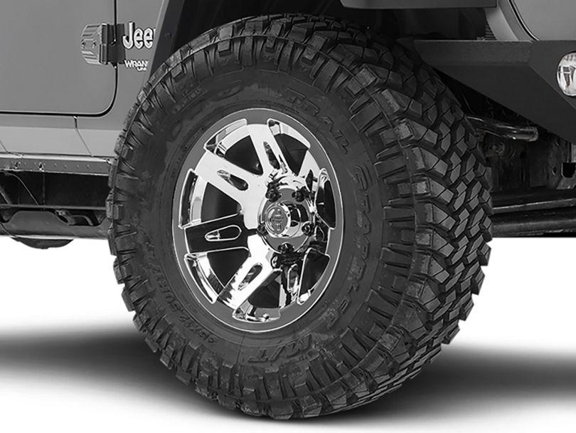 Rugged Ridge XHD Aluminum Chrome Wheel - 17x9 (18-20 Jeep Wrangler JL)