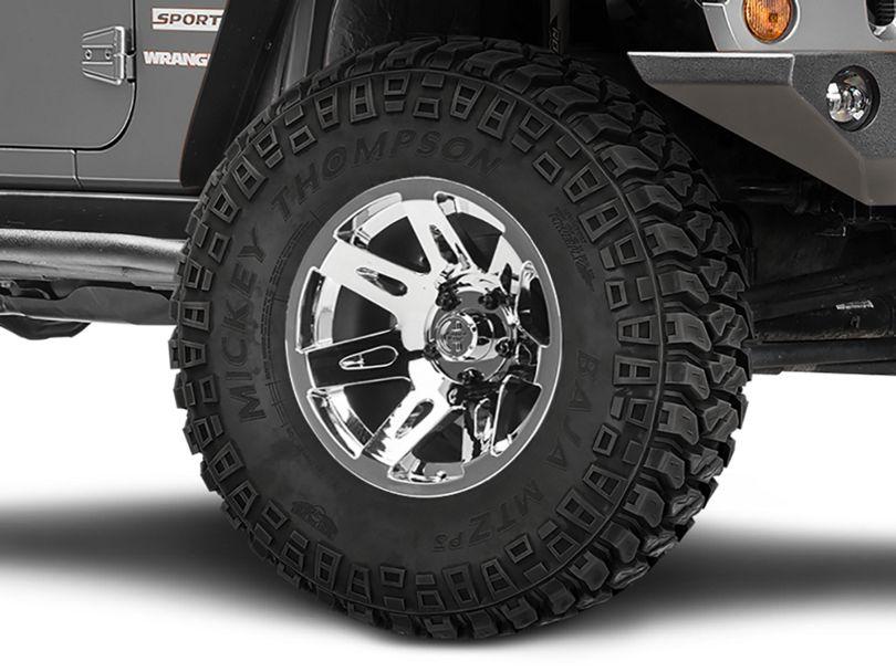 Rugged Ridge XHD Aluminum Chrome Wheel; 17x9 (07-18 Jeep Wrangler JK)