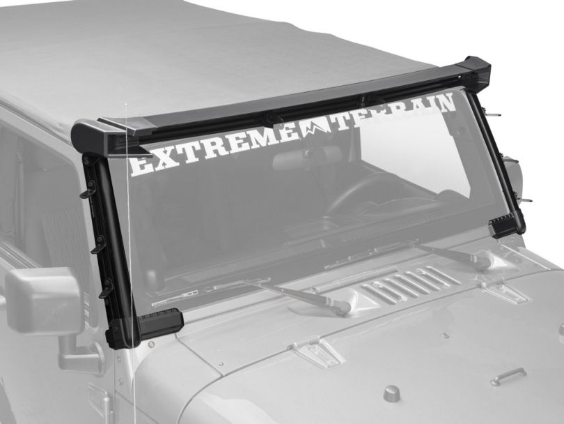 Rugged Ridge Elite Fast Track Windshield Light Bar (07-18 Jeep Wrangler JK)