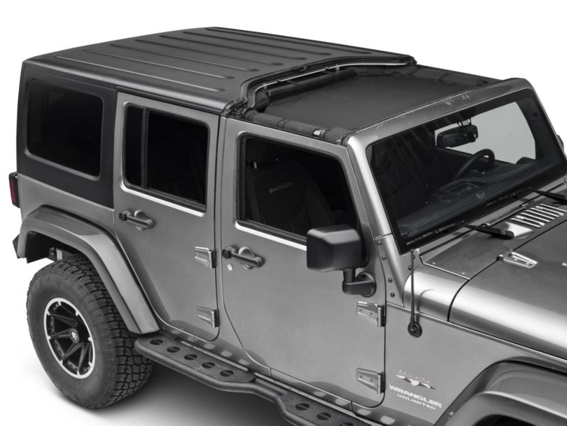 Rugged Ridge Front Hard Top Total Eclipse Shade (07-18 Jeep Wrangler JK)