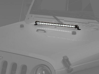 Raxiom 20 in. Super Slim Single Row LED Light Bar - Spot/Spread Combo