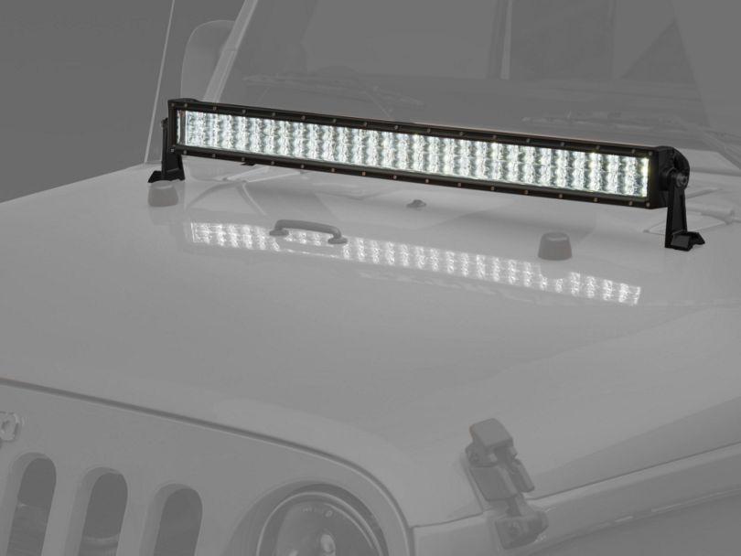 Raxiom 32 Inch 4-Row High Power LED Light Bar; Spot/Spread Combo