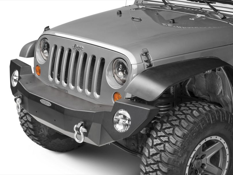 Rock-Slide Engineering Rigid Series Full Front Aluminum Bumper (07-18 Jeep Wrangler JK)