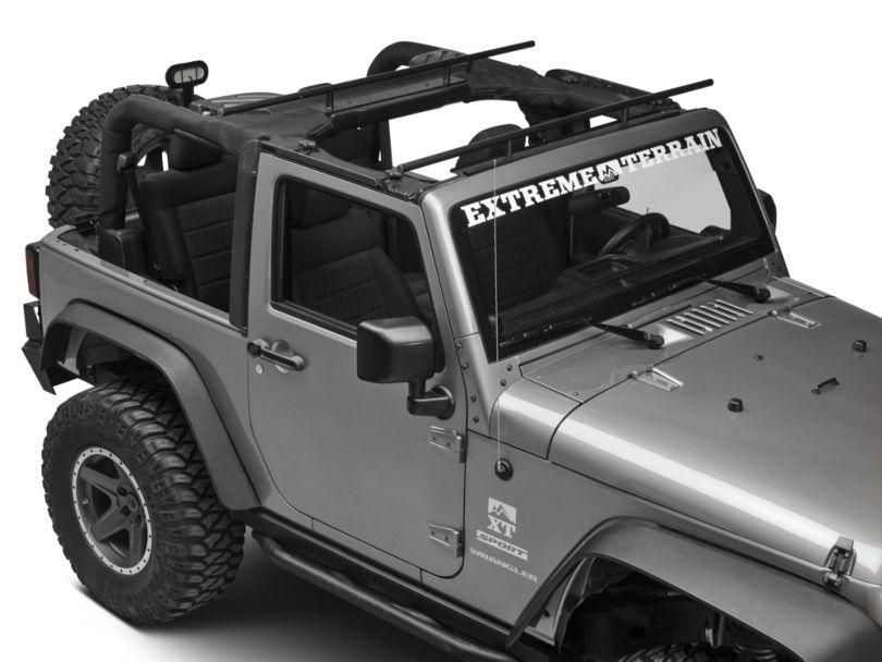 RedRock 4x4 Roll Bar Mount Cargo Rack (07-18 Jeep Wrangler JK)