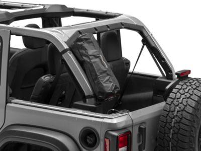 Rightline Gear Roll Bar Storage Bag - Black (87-18 Jeep Wrangler YJ