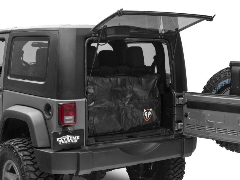 Rightline Gear Trunk Storage Bag - Black (07-18 Jeep Wrangler JK)