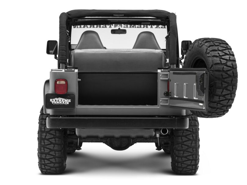 Tuffy Tailgate Security Enclosure (97-06 Jeep Wrangler TJ, Excluding Unlimited)