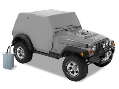 Bestop All-Weather Trail Cover - Charcoal (97-06 Jeep Wrangler TJ