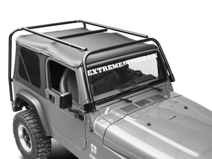 Garvin Adventure Rack (97-06 Jeep Wrangler TJ, Excluding Unlimited)