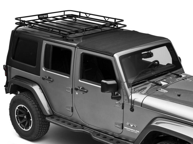 Garvin Expedition Half-Rack for Hard-Tops (07-18 Jeep Wrangler JK 4 Door)