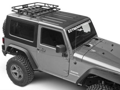 Garvin Sport Series Track Rack (07-18 Jeep Wrangler JK 2 Door)