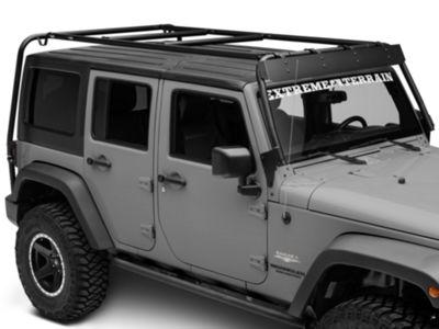 Garvin Wind Deflector for Adventure Rack (07-18 Jeep Wrangler JK)