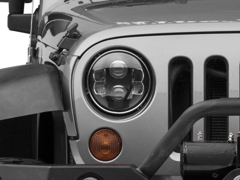 Pro Comp 7 in. Round LED Headlights (07-18 Jeep Wrangler JK)