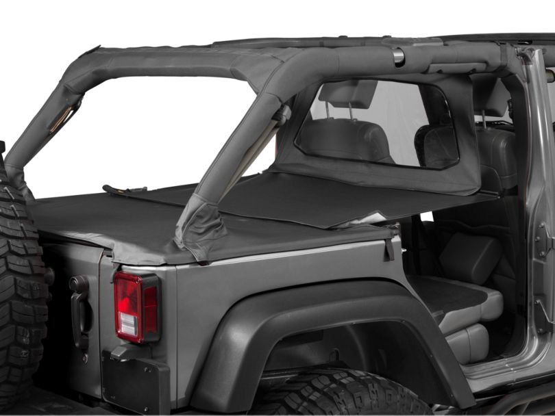 Bestop Windjammer - Black (07-18 Jeep Wrangler JK 4 Door)
