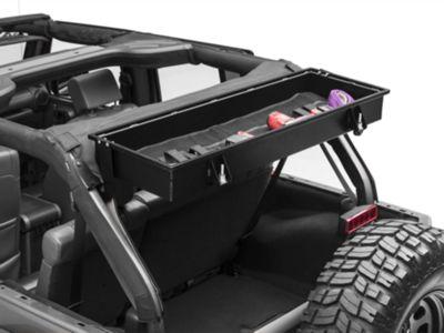 GraBars Rear Overhead Locking Storage Box (07-18 Jeep Wrangler JK 4 Door)