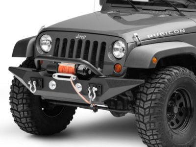 Rugged Ridge Spartan Front Bumper w/ Standard Ends (07-18 Jeep Wrangler JK)