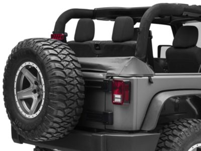 Rugged Ridge Soft Top Storage Boot - Black Diamond (07-18 Jeep Wrangler JK 2 Door)