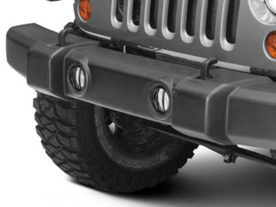 Rugged Ridge Euro Fog Light Guards - Black (07-18 Jeep Wrangler JK)