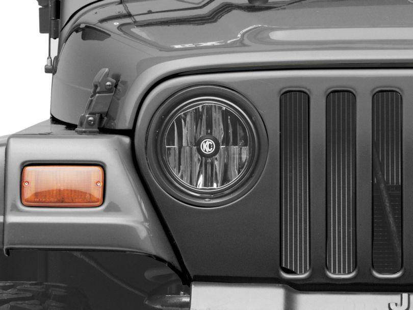 KC HiLiTES Gravity LED 7 in. Headlights - Single (97-06 Jeep Wrangler TJ)