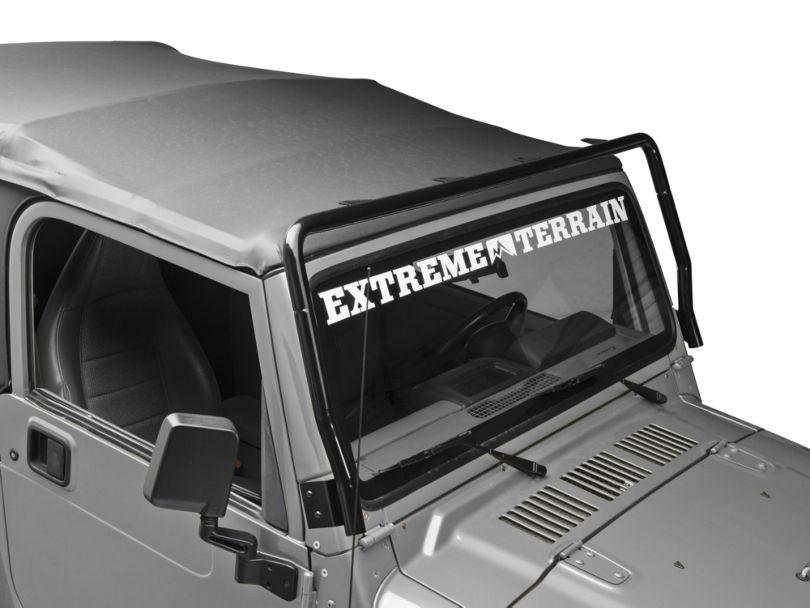 Rugged Ridge Full Frame Light Bar; Black (97-06 Jeep Wrangler TJ)