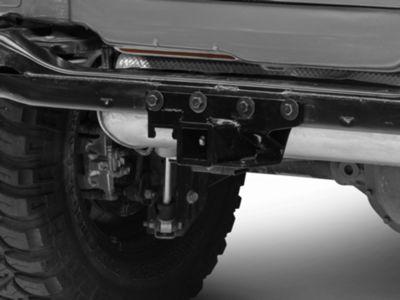 Rugged Ridge 2 in. Hitch Receiver Kit (07-18 Jeep Wrangler JK)
