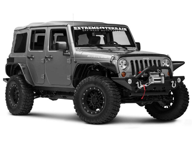 Rugged Ridge 5-Piece Body Armor Guard Kit - Black (07-18 Jeep Wrangler JK 4 Door)