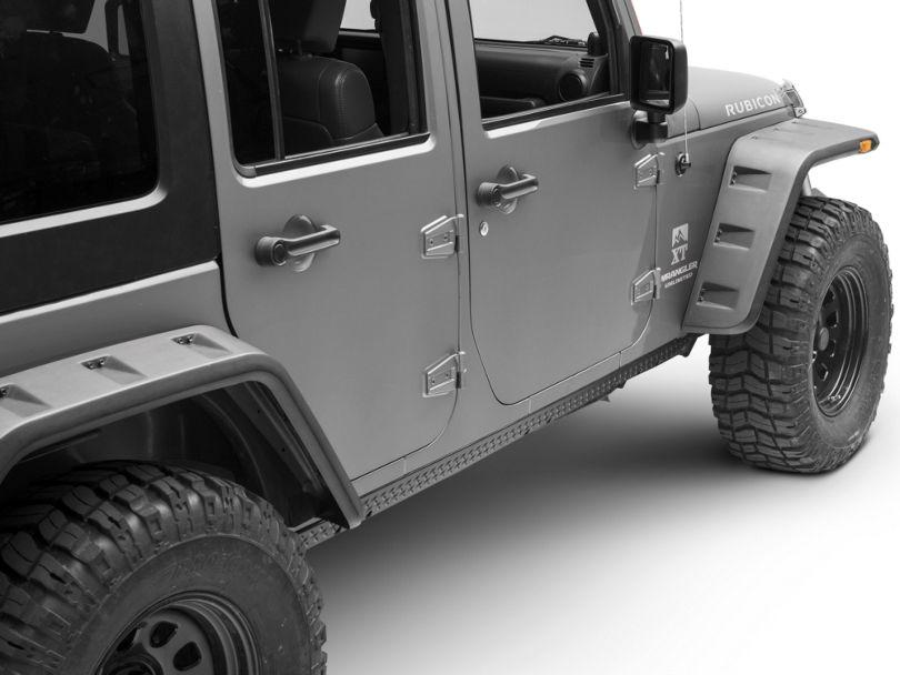 Rugged Ridge Rocker Side Panel Body Armor Kit (07-18 Jeep Wrangler JK 4 Door)