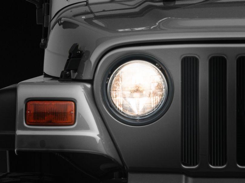 7 in. Round Headlight (97-06 Jeep Wrangler TJ)