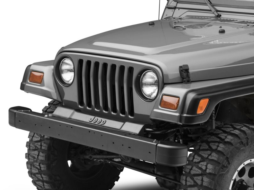 Front Bumper with Extensions (97-06 Jeep Wrangler TJ)