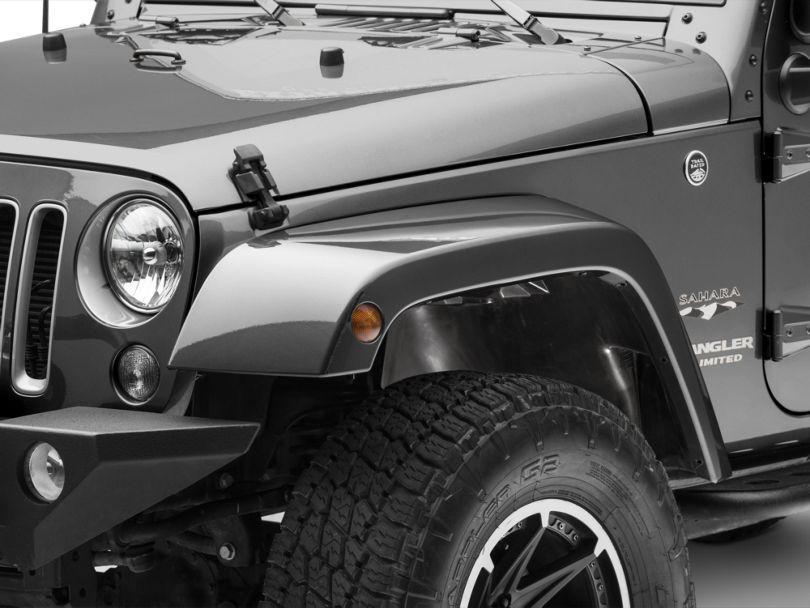 Fender Splash Shield; Front Driver Side (07-18 Jeep Wrangler JK)