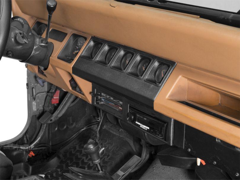 Instrument Panel Housing - Black (91-95 Jeep Wrangler YJ)