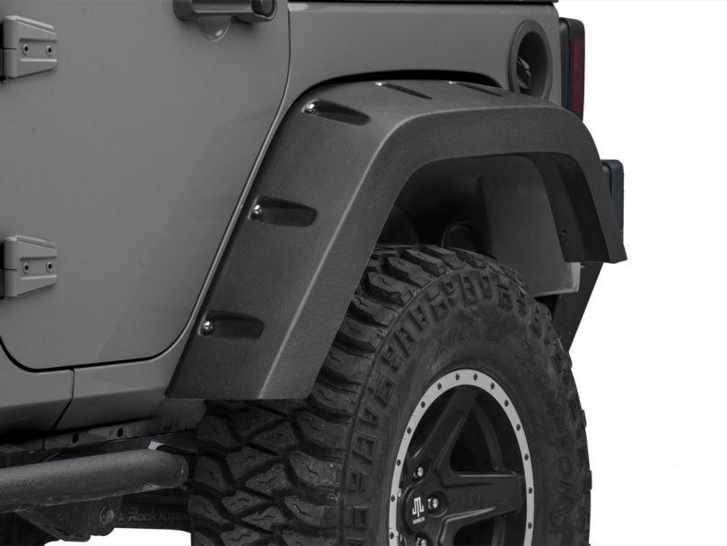 Fender Splash Shield; Rear Driver Side (07-18 Jeep Wrangler JK)