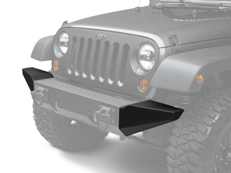 Rugged Ridge Bumper Ends for Xtreme Heavy Duty Bumper (07-18 Jeep Wrangler JK)