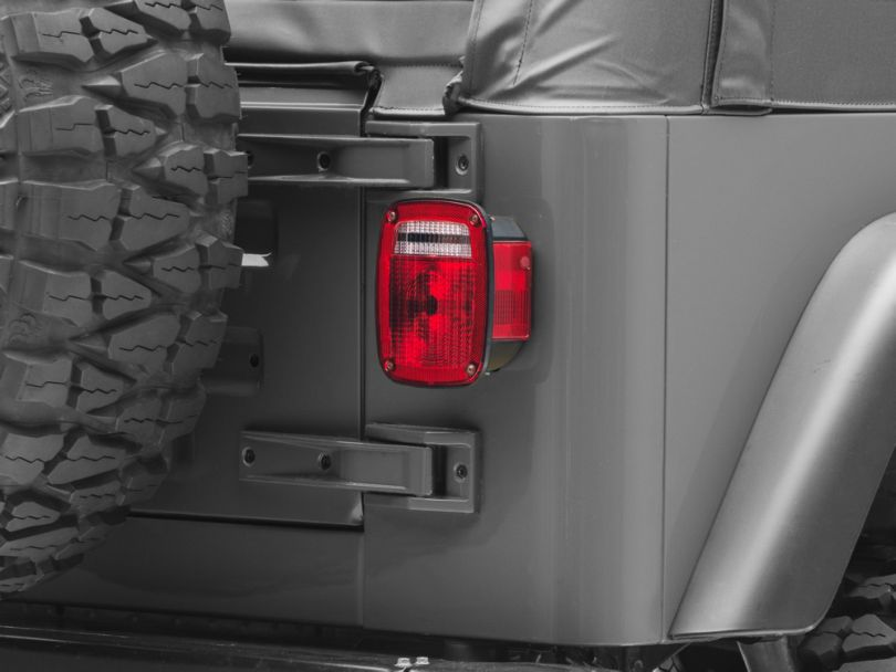 Tail Light Lens (87-06 Jeep Wrangler YJ & TJ)