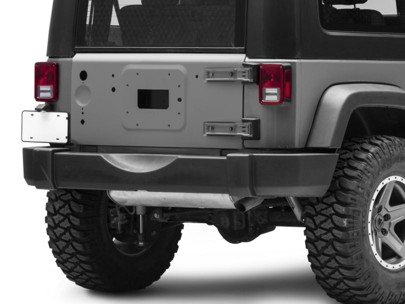 Replacement Tailgate - Primered (07-18 Jeep Wrangler JK)