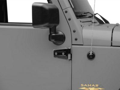 Crown Automotive Outer Door Hinge - Driver Side (07-18 Jeep Wrangler JK)