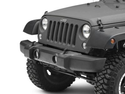 Omix-ADA Front Bumper Cover w/ Fog Light Openings - Textured Black (07-18 Jeep Wrangler JK)