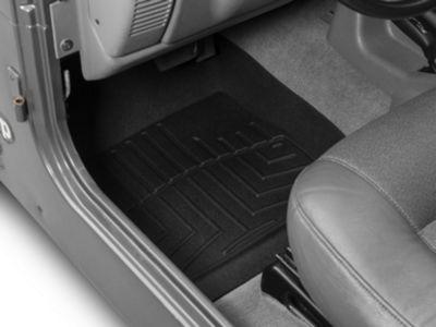 Weathertech DigitalFit Front Floor Liners - Black (97-06 Jeep Wrangler TJ)