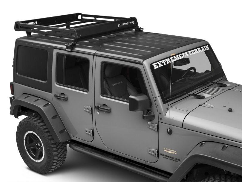 Barricade Removable Hard Top Roof Basket (07-18 Jeep Wrangler JK)
