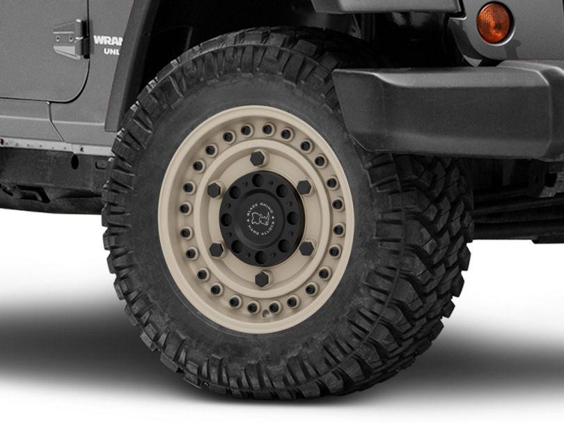 Black Rhino Armory Desert Sand Wheel; 18x9.5 (07-18 Jeep Wrangler JK)