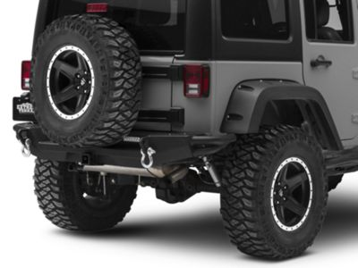 RedRock 4x4 Crawler Rear Bumper w/ LED Fog Lights (07-18 Jeep Wrangler JK)