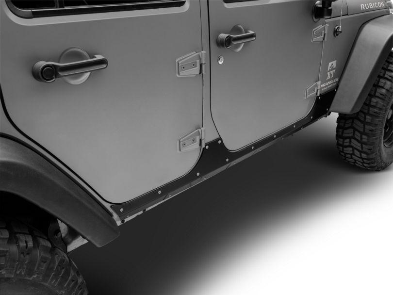 RedRock 4x4 Rocker Guards (07-18 Jeep Wrangler JK 4 Door)