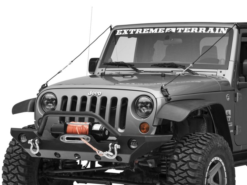 Smittybilt Limb Risers (07-18 Jeep Wrangler JK)
