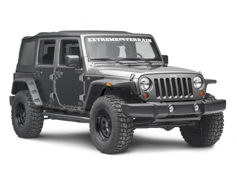 Smittybilt MAG Armor Magnetic Side Protection (07-18 Jeep Wrangler JK 4 Door)