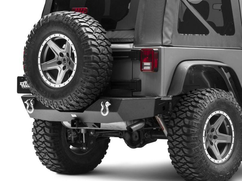 Smittybilt XRC Gen1 Rear Bumper (07-18 Jeep Wrangler JK)