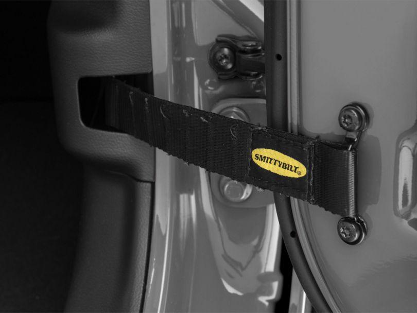 Smittybilt Adjustable Door Straps (Universal Fitment)