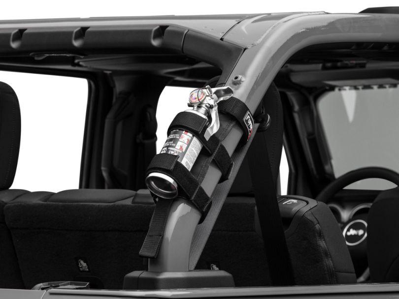 Poison Spyder Fire Extinguisher Holder (87-20 Jeep Wrangler YJ, TJ, JK & JL)
