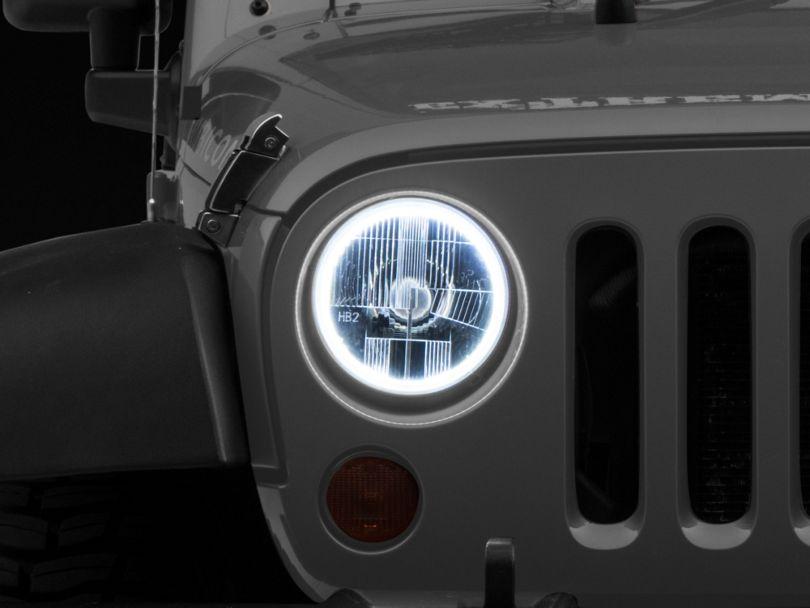 Delta 7-Inch Halo H.I.D. Headlights (07-18 Jeep Wrangler JK)